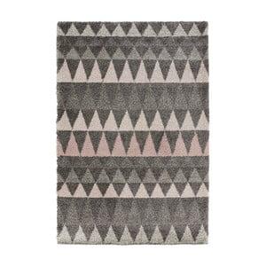 Covor Mint Rugs Allure Grey, 160 x 230 cm, gri închis
