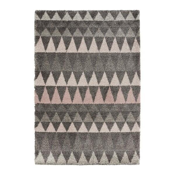 Tmavě šedý koberec Mint Rugs Allure Grey, 120x170cm