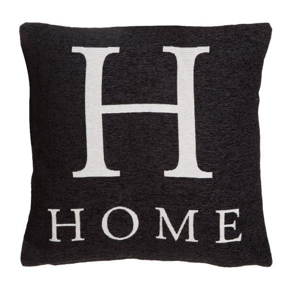 Polštář Premier Housewares Home Black, 45x45cm