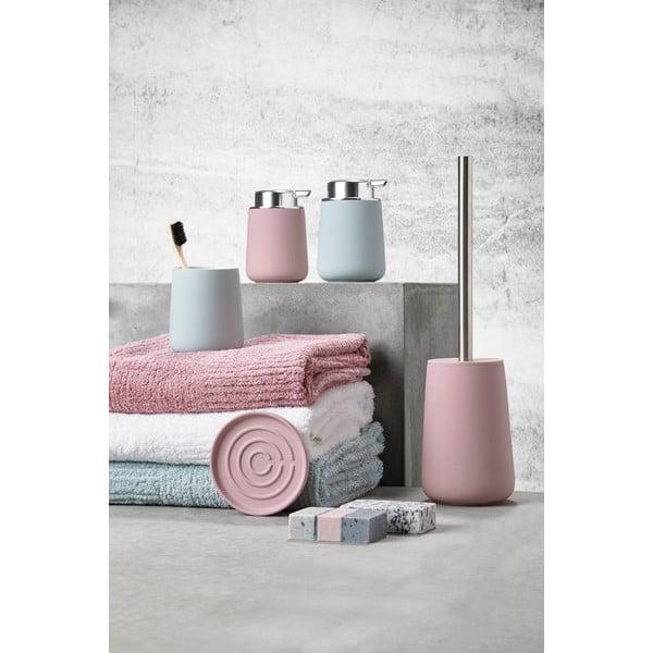Růžová miska na mýdlo Zone Nova