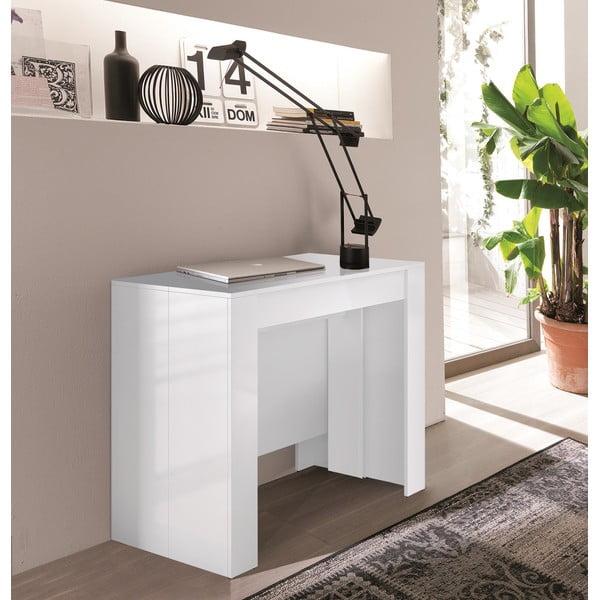 Světle šedý rozkládací konzolový stolek 13Casa Granada