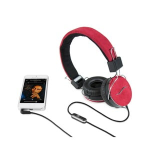 Sluchátka hi-Deejay Professional Red