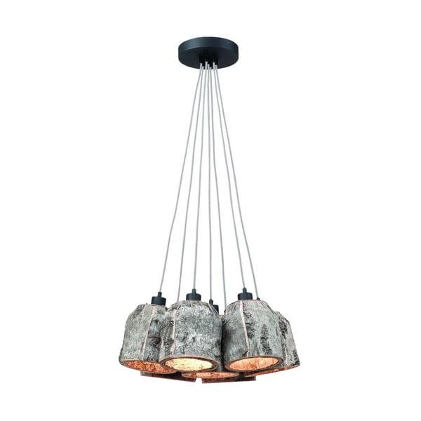 Závesné svietidlo z brezového dreva Citylights Aspen Pentum