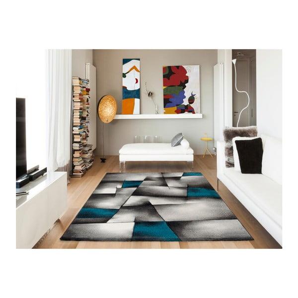 Modrošedý koberec Universal Malmo, 120x170cm