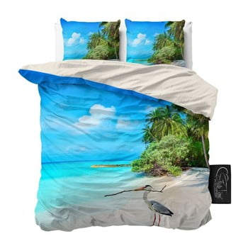 Lenjerie De Pat Din Micropercal Sleeptime Beach, 160 X 200 Cm