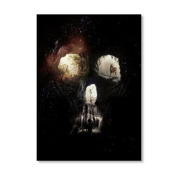 Autorský plakát Cave