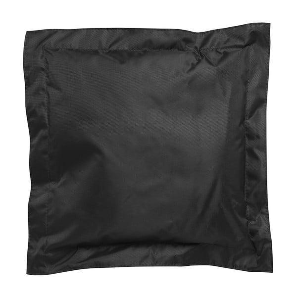 Černý venkovní polštářek Sunvibes, 65 x 65 cm