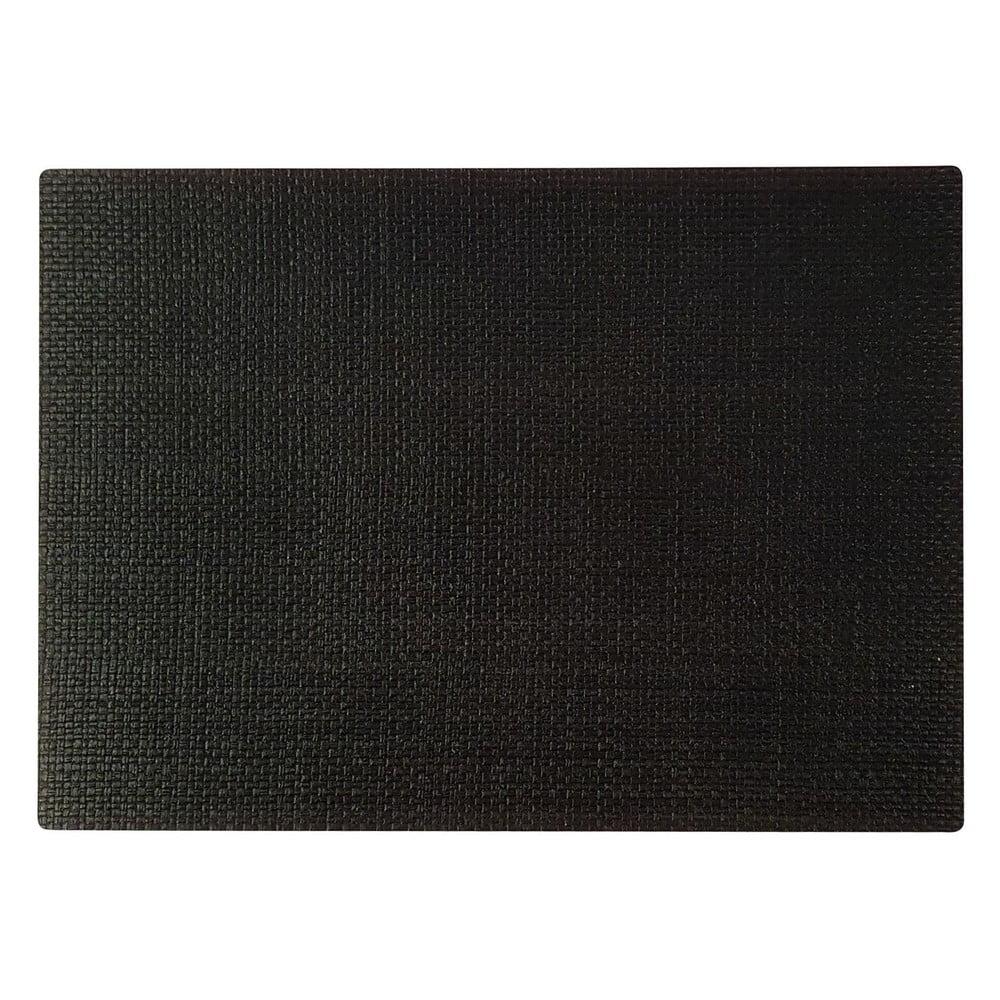Černé prostírání Saleen Coolorista, 45 x 32,5 cm