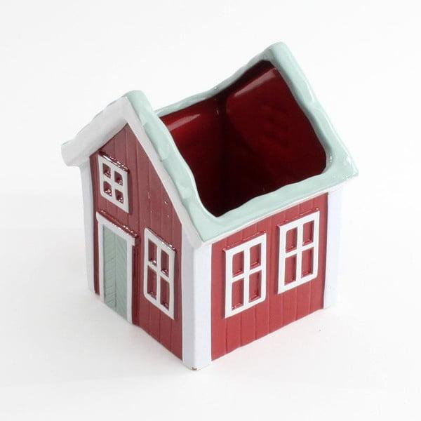 Keramická dóza House Red