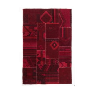 Vlněný koberec Bari Red, 170x240 cm