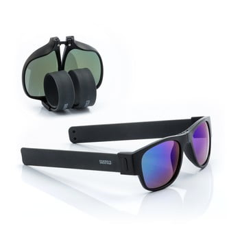 Ochelari de soare pliabili InnovaGoods Sunfold ES3, negru - albastru de la InnovaGoods