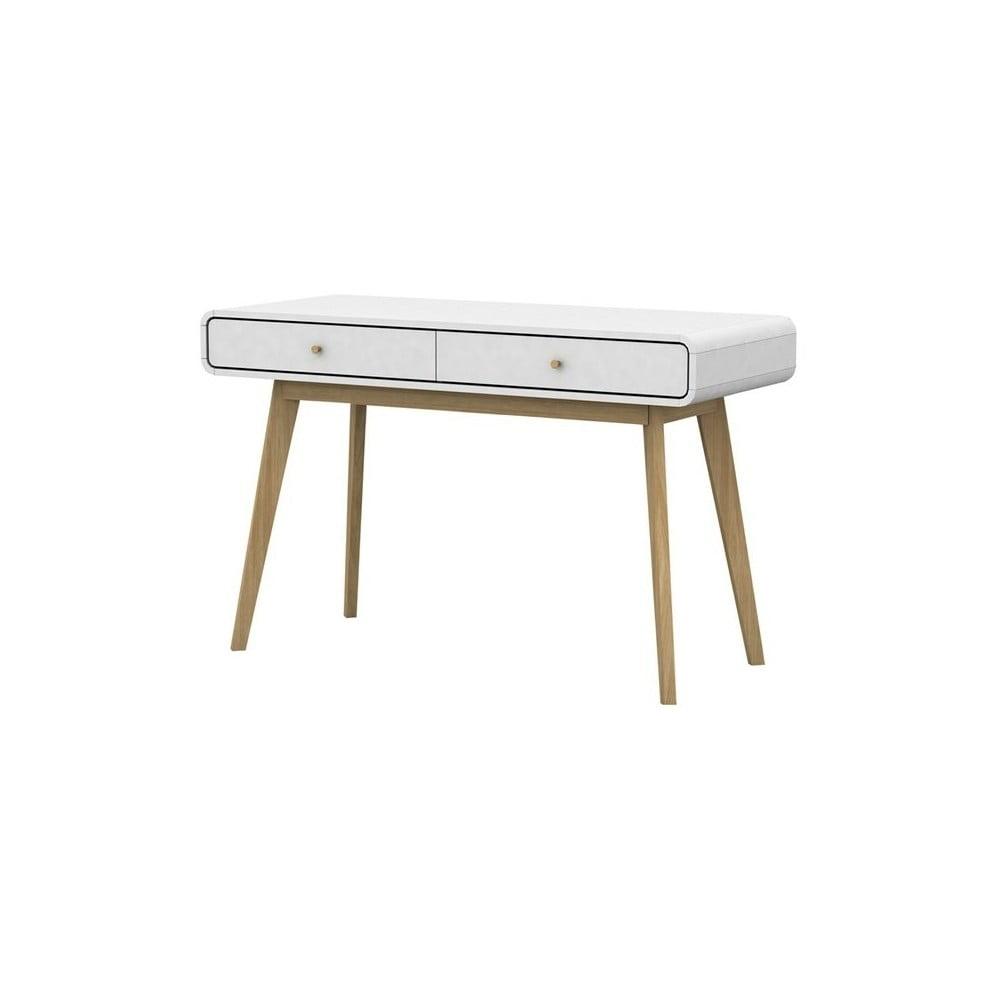 Bílý psací stůl Støraa Cleo