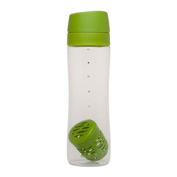 Lahev s infusérem Aladdin 700 ml, zelená
