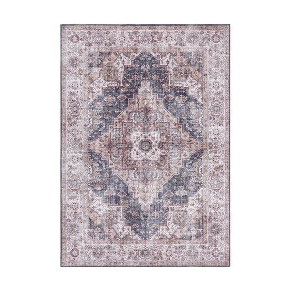 Šedo-béžový koberec Nouristan Sylla, 80 x 150 cm