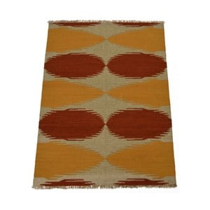 Vlněný koberec Kilim no. 80, 140x200 cm