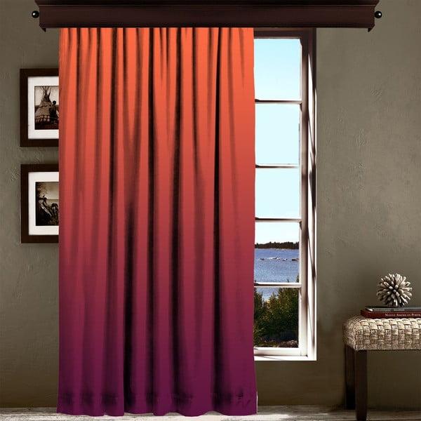 Draperie Curtain Lesslie, 140 x 260 cm, portocaliu - violet