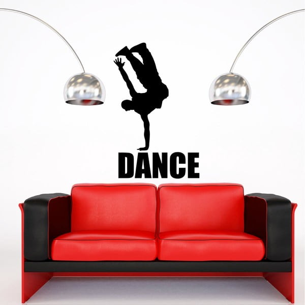 Samolepka Hip Hop dancer