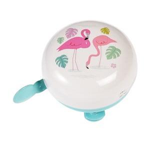 Zvonek na jízdní kolo Rex London Flamingo Bay