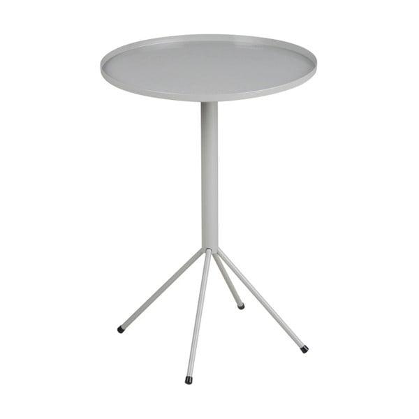 Šedý příruční stolek Actona Wilson