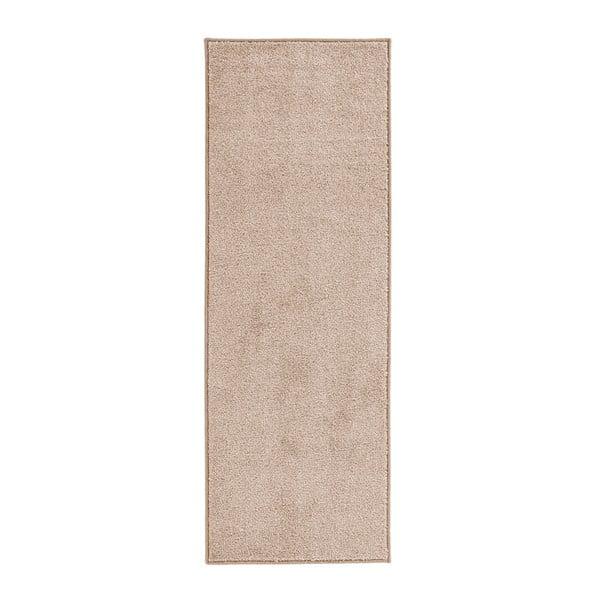 Krémový běhoun Hanse Home Pure, 80x300cm