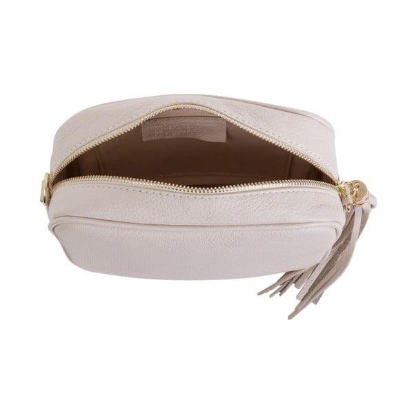 Béžová kabelka z pravé kůže Andrea Cardone Pezzo