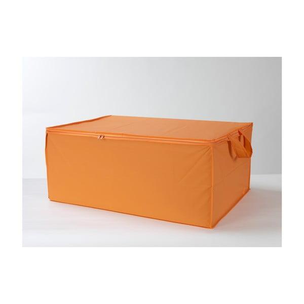 Textilní box Orange, 70x50 cm