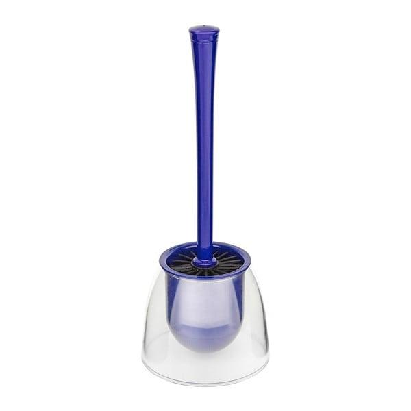 Perie toaletă Wenko Fiesta Blue, albastru