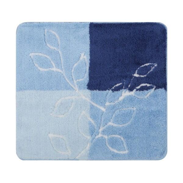 Modrá předložka do koupelny Confetti Bathmats Lagina, 50x60cm