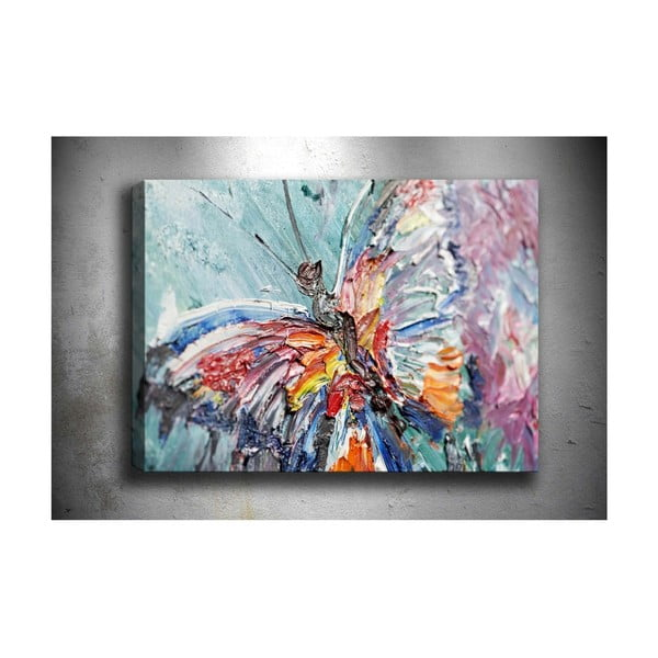 Obraz Tablo Center One Butterfly, 70 x 50 cm