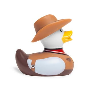 Kachnička do vany Bud Ducks Mini Cowboy