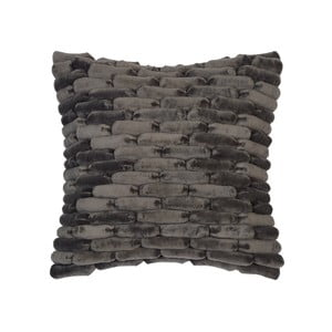 Šedý polštář ZicZac Cobble Stone, 45x45cm