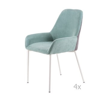 Set 4 scaune sømcasa Martina, verde mentă de la sømcasa