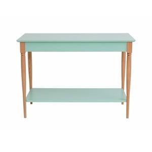 Mátově zelený konzolový stolek Ragaba Mamo, šířka 85 cm