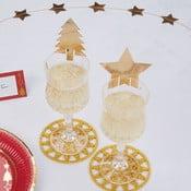 Set 10 decorațiuni pentru pahare Neviti Dazzling Christmas