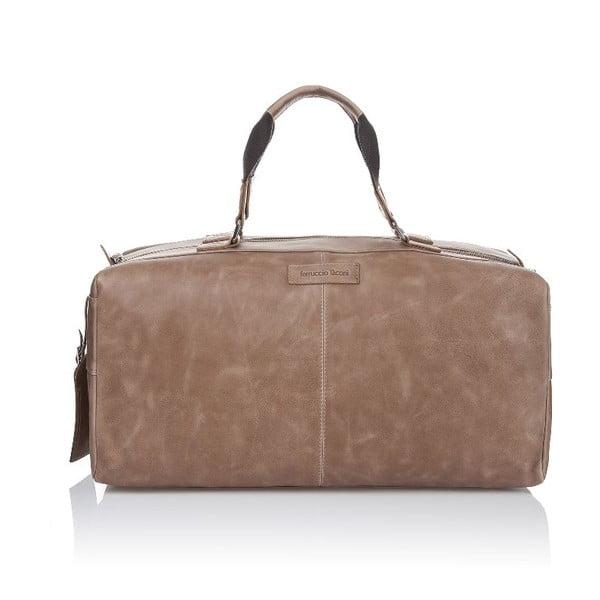 Pánská kožená taška Ferruccio Laconi 102 Havana