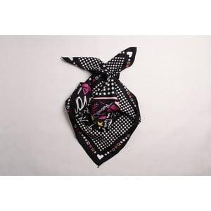 Hedvábný šátek Ti Amo Heart