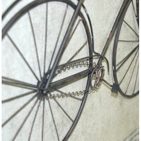 Obraz Black Bike, 80x60 cm