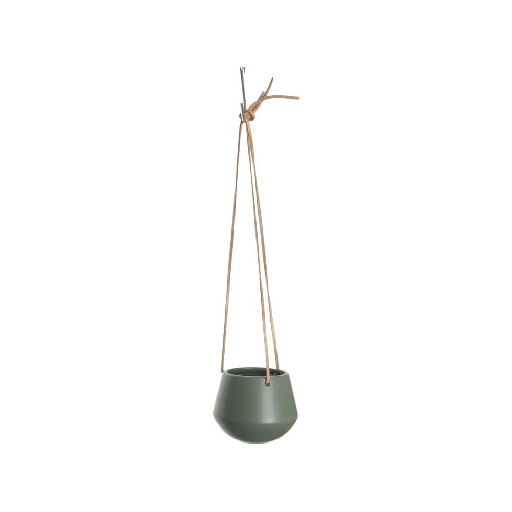 Zelený závěsný květináč PT LIVING Skittle, průměr 12,2cm