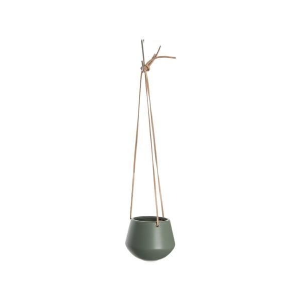 Zelený závěsný květináč PT LIVING Skittle, ⌀12,2cm