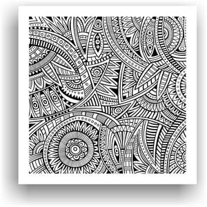 Obraz k vymalování Color It no. 25, 50x50 cm