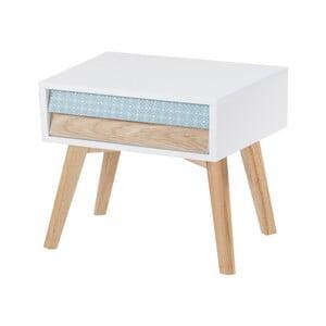 Bílý noční stolek 360 Living Jaden