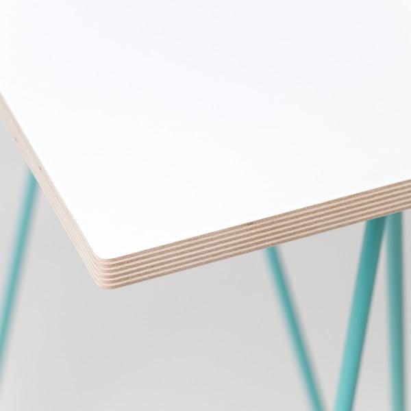 Deska stolu Flat - bílá, 150x75 cm