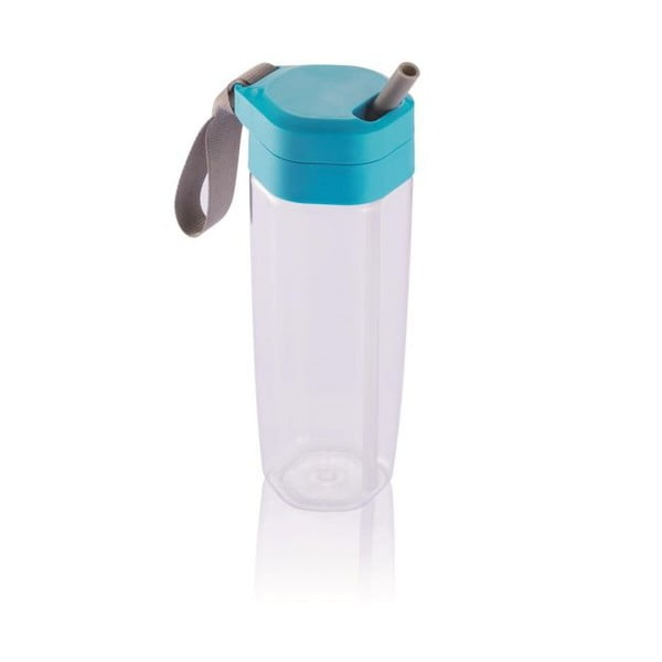 Butelka podróżna z niebieskim wieczkiem XD Design Turner Activity, 650 ml