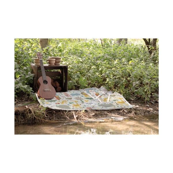 Oboustranná deka Little Nice Things Animals, 170x130cm