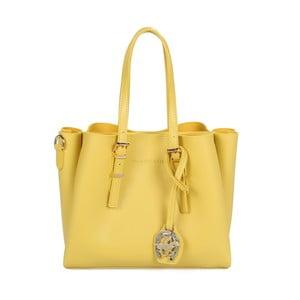 Žlutá kabelka z eko kůže Beverly Hills Polo Club Alicia