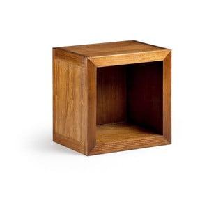 Knihovna ze dřeva mindi Moycor Star Hole