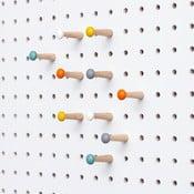 Kolíčky na nástěnku Pegboard