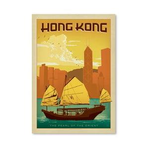 Plakát Americanflat Hong Kong, 42 x 30 cm