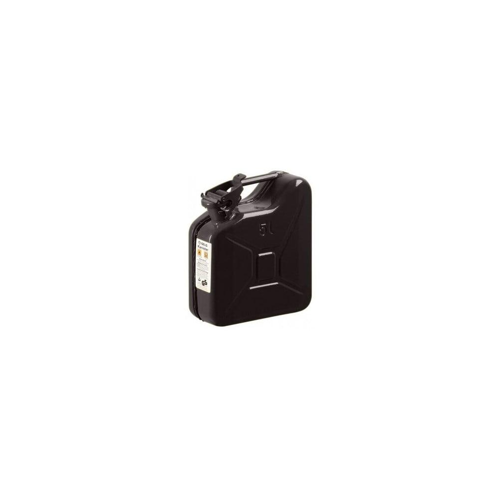 Černý dárkový kanystr Designed By Man, 5 l