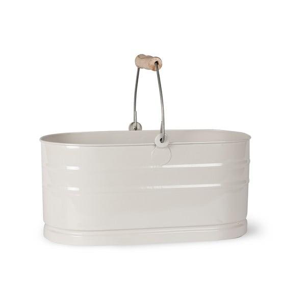 Bílý košík na mycí prostředky Garden Trading Utility